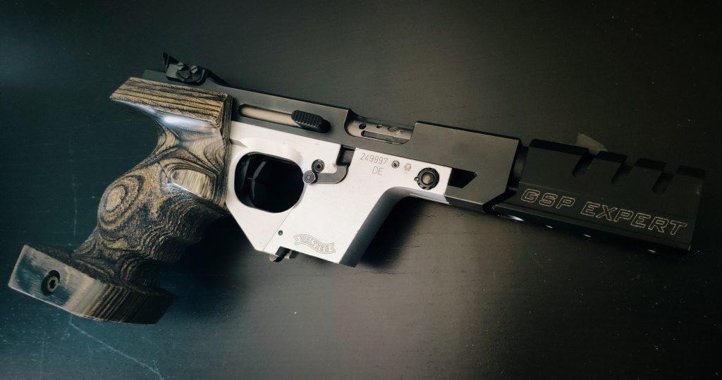 Walther GSP: Ajuste del disparador