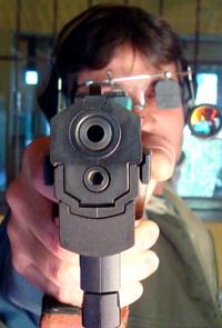 punteria con pistola