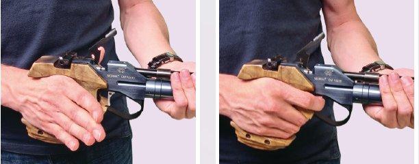apriete del arma